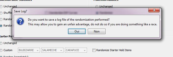 Upr log file
